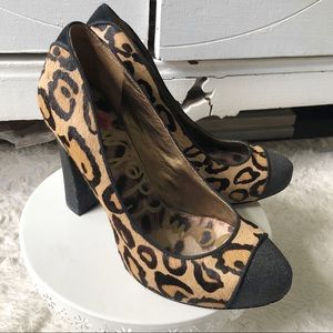 Sam Edelman Frances Calf Hair Heels